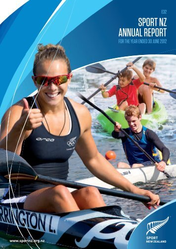 SPORT NZ ANNUAL REPORT - Sport New Zealand