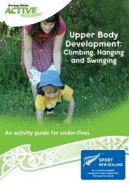 Climbing, Hanging and Swinging - Sport New Zealand