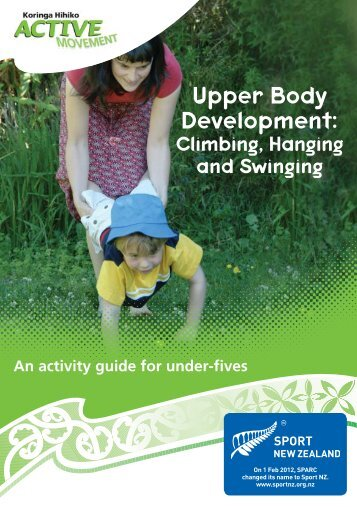 Climbing, Hanging and Swinging - Sport New Zealand