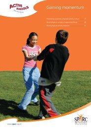 Gaining Momentum (PDF, 238 Kb) - Sport New Zealand