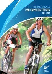 PARTICIPATION TRENDS - Sport New Zealand