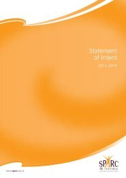 Statement of Intent 2011 - 2014 (PDF, 633 Kb) - Sport New Zealand
