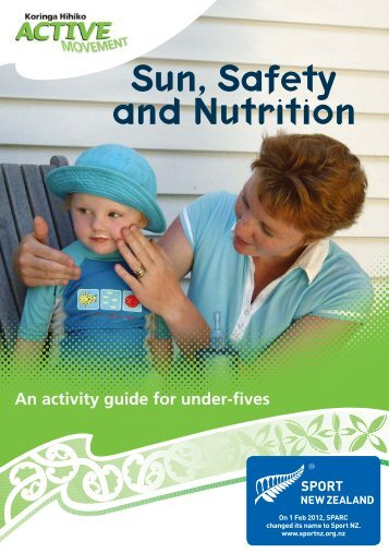 Sun, Safety and Nutrition brochure in English - Sport New Zealand