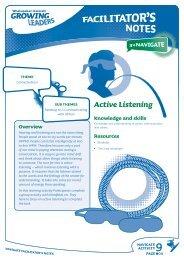 Active Listening - Sport New Zealand