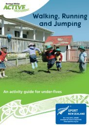 Walking, Running and Jumping brochure in English - Sport New ...