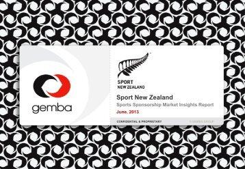 Sport Sponsorship Market Insight Report June 2013 (PDF, 17.86 Mb)