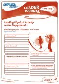 Leading Physical Activity in the Playground 1 - Page 5