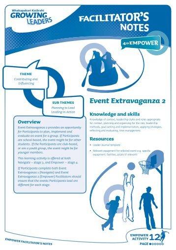 Event Extravaganza 2
