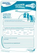 Leadership Experience Reflection 2 - Sport New Zealand - Page 3