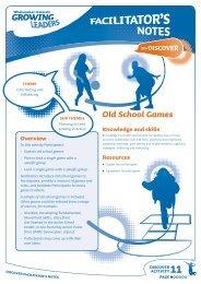 Old School Games - Sport New Zealand