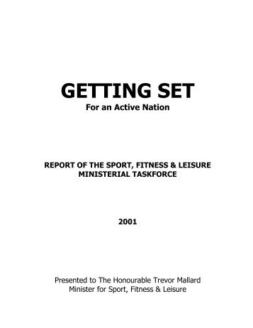 Read Getting Set for an Active Nation - Sport New Zealand
