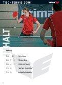 TISCHTENNIS 2006 - Sportolino.de - Page 2