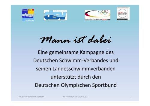 DSV PPP Innovationsfonds 2010 2011 - Sport pro Gesundheit