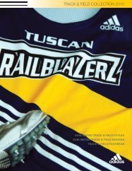 TRACK & FIELD COLLECTION 2010 - Sports-Inter