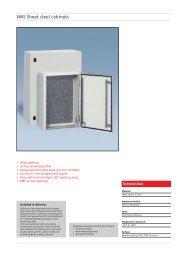 SWS Sheet steel cabinets