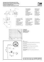 Montageanleitung Geräteträgersystem GT 48/2 Mounting instruction ...