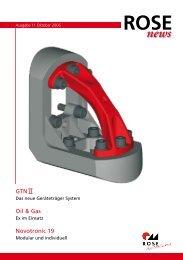 GTN II Oil & Gas Novotronic 19 - ROSE Systemtechnik ...