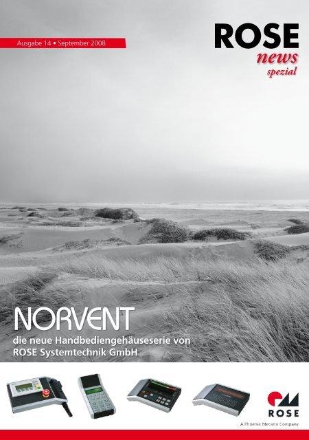 NORVENT - ROSE Systemtechnik Industriegehäuse, Ex-Gehäuse ...