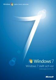 Microsoft: Windows 7 stellt sich vor (pdf)