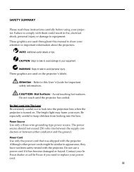 iii SAFETY SUMMARY Please read these instructions carefully ...