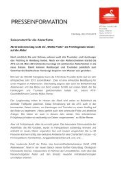 Pressemitteilung (PDF) - Alster-Touristik GmbH Hamburg