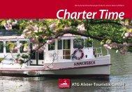 Charter-Broschüre als Download - Alster-Touristik GmbH Hamburg