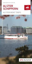 Download Broschüre Alsterschippern - Alster-Touristik GmbH ...