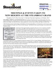 17Meetings & Conventions_FY13.docx - Steamboat