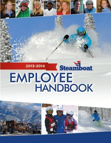 EMPLOYEE HANDBOOK - Steamboat