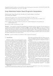 Loop Subdivision Surface Based Progressive Interpolation