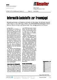 Informatik-Loekstoffe irn' frauenjagd - ETH - Frauenförderung ...