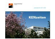 KENzeiten - Kantonsschule Enge