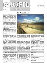Der Weg ist das Ziel - Reformierte Kirche Langenthal