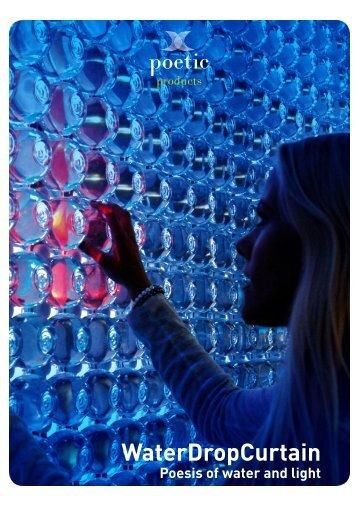 WaterDropCurtain brochure - Poetic