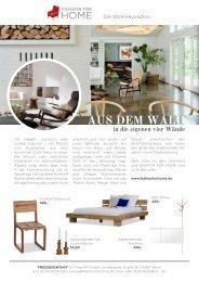 AUS DEM WALD - Fashion for Home