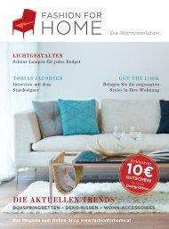 DIE AKTUELLEN TRENDS - Fashion for Home
