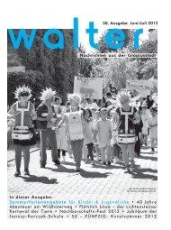 vvalter58. Ausgabe Juni/Juli 2012 Nachrichten aus der Gropiusstadt ...