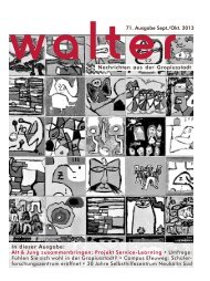 vvalter71. Ausgabe Sept./Okt. 2013 Nachrichten aus der ...