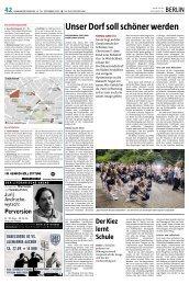 Unser Dorf soll schöner werden - Quartiersmanagement Gropiusstadt