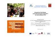 Integriertes Handlungs- und Entwicklungskonzept 2011 mit ... - Opus