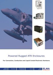 Powered Rugged ATR Enclosures - Elma
