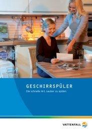 GESCHIRRSPÜLER - Elektro-Gemeinschaft Hamburg