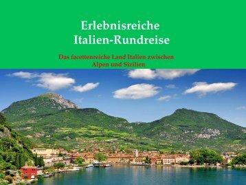 Erlebnisreiche Italien-Rundreise