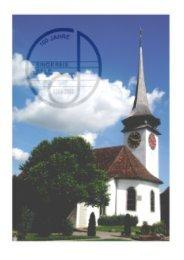 100 Jahre Kirchenchor Singkreis Belp 1908 - 2008