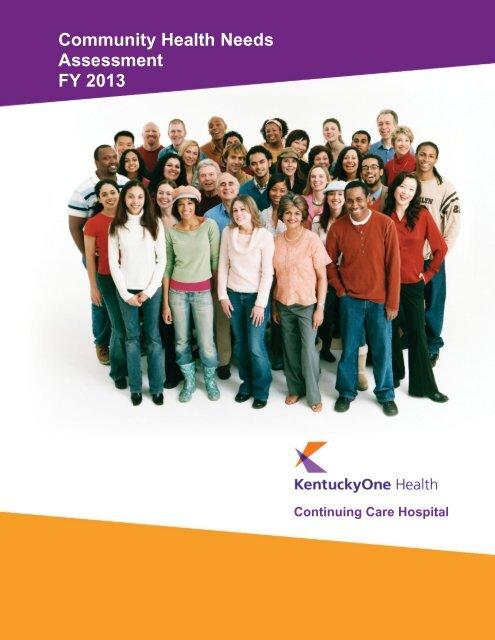 Community Health Needs Assessment 2012 - Saint Joseph Hospital