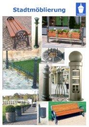 Unser aktueller Katalog Stadtmöblierung