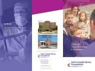 Honoring Those Who Make A Difference - Saint Joseph Hospital