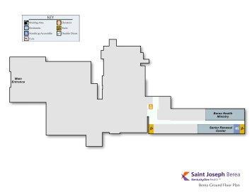 Download Floor Plans For Saint Joseph-Berea - Saint Joseph Hospital