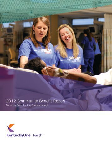 2012 Community Benefit Report - Saint Joseph Hospital