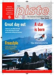 Piste Magazine - Snow Camp